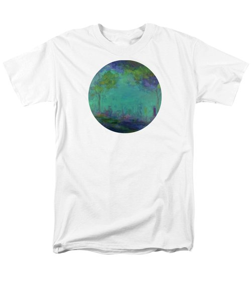 The City In The Distance Men's T-Shirt  (Regular Fit) by Mary Wolf