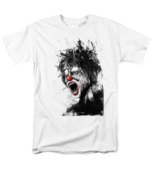The Clown Men's T-Shirt  (Regular Fit) by Balazs Solti