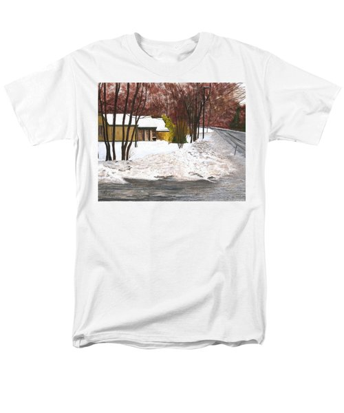 Men's T-Shirt  (Regular Fit) featuring the painting The Day After by Stuart B Yaeger