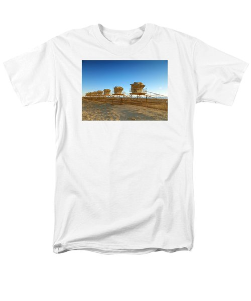 Men's T-Shirt  (Regular Fit) featuring the photograph The End Of Summer by Everette McMahan jr