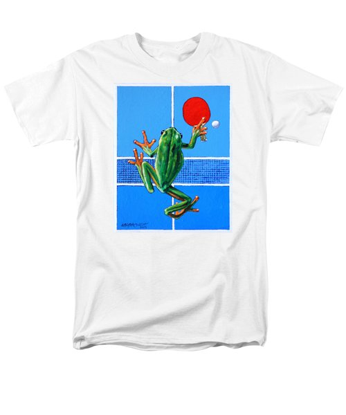 The Forehand Smash Men's T-Shirt  (Regular Fit) by John Lautermilch