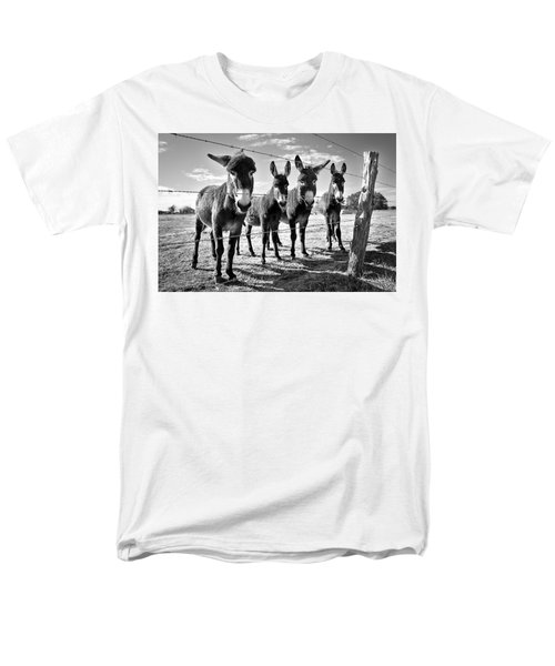 Men's T-Shirt  (Regular Fit) featuring the photograph The Four Amigos by Sharon Jones