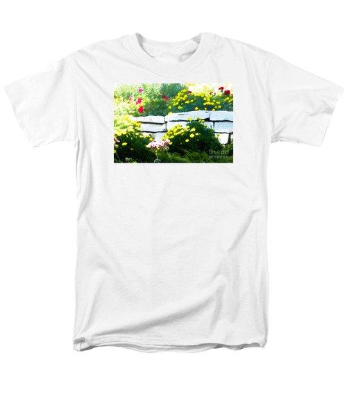 The Garden Wall Men's T-Shirt  (Regular Fit) by David Blank