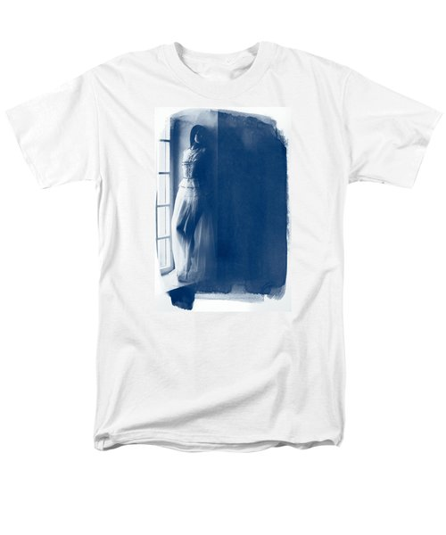 The Girl At The Window. Men's T-Shirt  (Regular Fit) by Andrey  Godyaykin