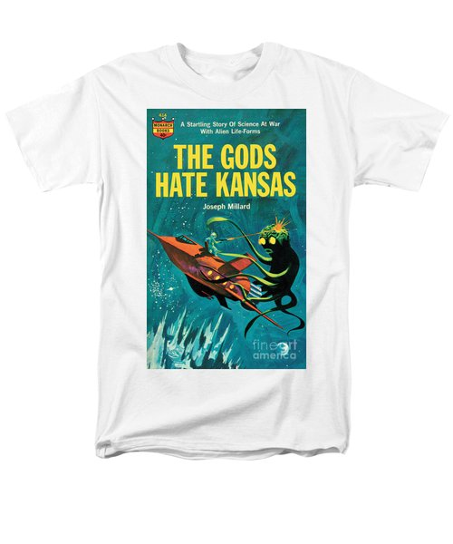 Men's T-Shirt  (Regular Fit) featuring the painting The Gods Hate Kansas by Jack Thurston