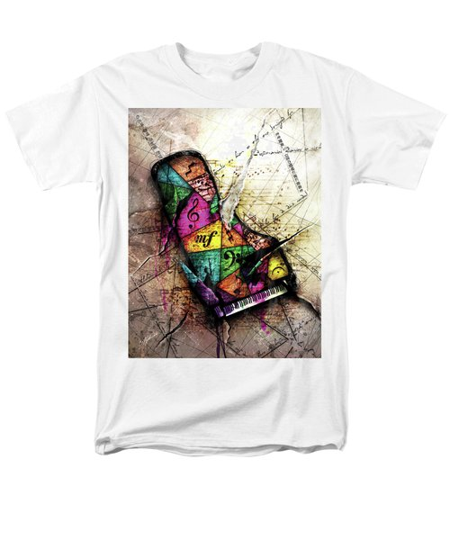 The Grand Illusion  Men's T-Shirt  (Regular Fit) by Gary Bodnar