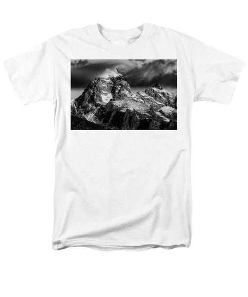 The Grand Teton Men's T-Shirt  (Regular Fit) by Gary Lengyel