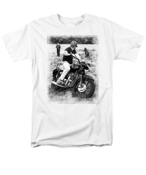 The Great Escape Men's T-Shirt  (Regular Fit) by Mark Rogan