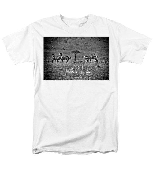 Men's T-Shirt  (Regular Fit) featuring the photograph The Herd by Karen Lewis