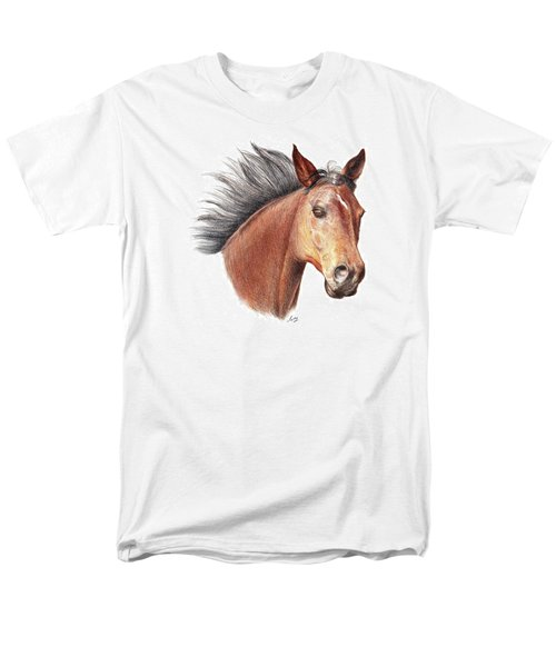 The Horse Men's T-Shirt  (Regular Fit) by Mike Ivey