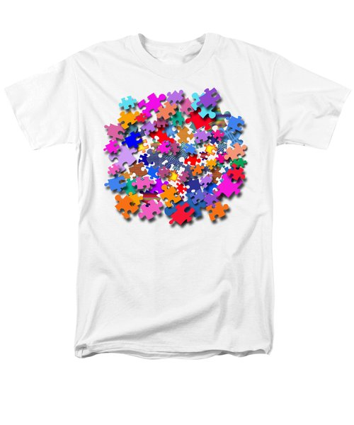 The Impossible Puzzle Men's T-Shirt  (Regular Fit) by Bill Owen