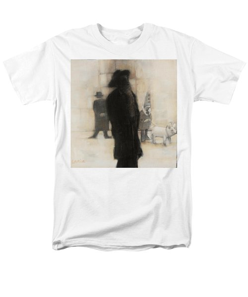 The Incongruity Of It All  Men's T-Shirt  (Regular Fit) by Jean Cormier