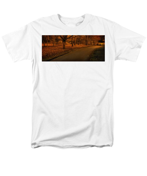 The Innocent Railway Path Men's T-Shirt  (Regular Fit)