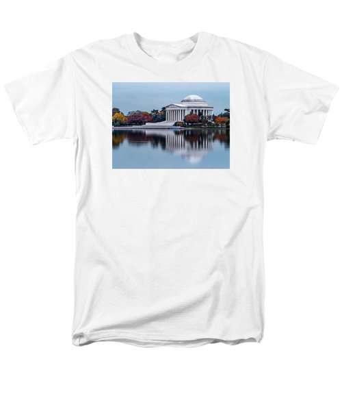The Jefferson In Baby Blue Men's T-Shirt  (Regular Fit) by Ed Clark