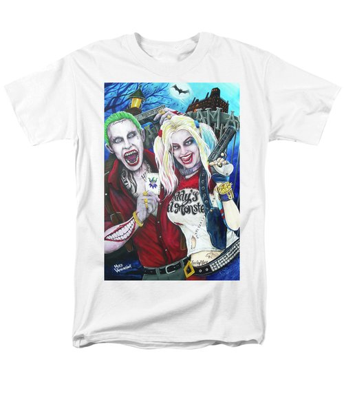 The Joker And Harley Quinn Men's T-Shirt  (Regular Fit) by Michael Vanderhoof