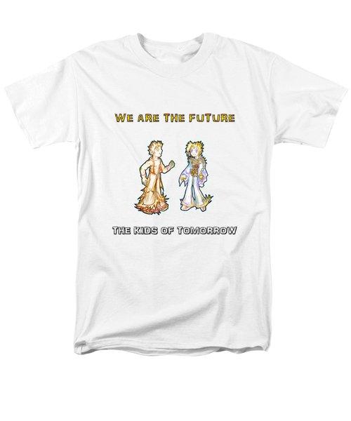 The Kids Of Tomorrow Corie And Albert Men's T-Shirt  (Regular Fit)