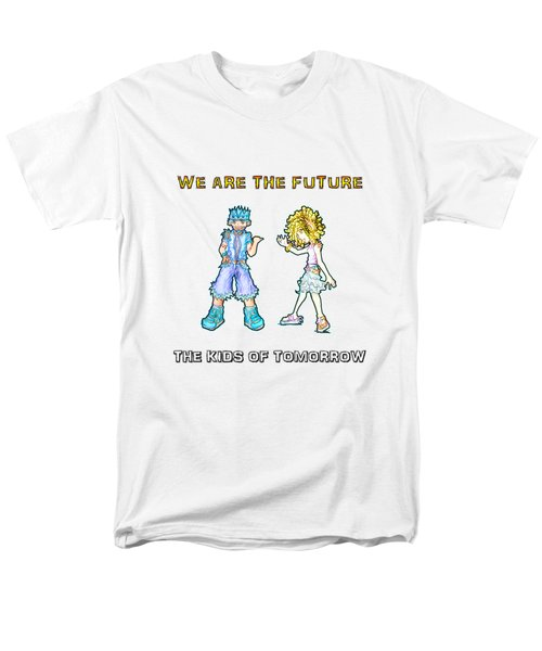 The Kids Of Tomorrow Toby And Daphne Men's T-Shirt  (Regular Fit) by Shawn Dall
