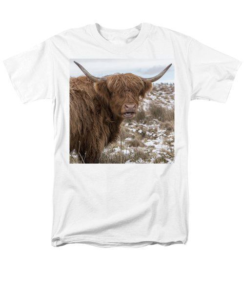 The Laughing Cow, Scottish Version Men's T-Shirt  (Regular Fit) by Jeremy Lavender Photography