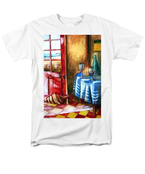 The Mystery Room Men's T-Shirt  (Regular Fit) by Winsome Gunning