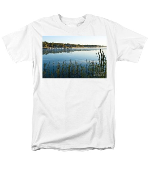 The Old Fishing Pier Men's T-Shirt  (Regular Fit) by Tamyra Ayles