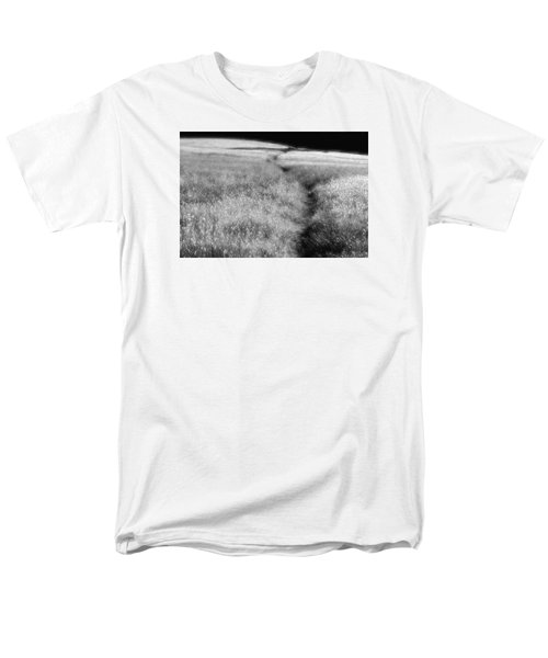 Men's T-Shirt  (Regular Fit) featuring the photograph The Path by Mark Alan Perry