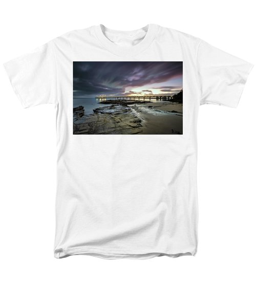 The Pier @ Lorne Men's T-Shirt  (Regular Fit) by Mark Lucey
