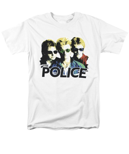 The Police Men's T-Shirt  (Regular Fit) by Gina Dsgn