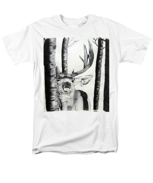 Men's T-Shirt  (Regular Fit) featuring the drawing The Rutt by Mayhem Mediums