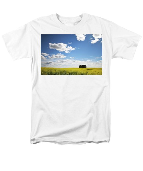 The Saskatchewan Prairies II Men's T-Shirt  (Regular Fit) by Ryan Crouse