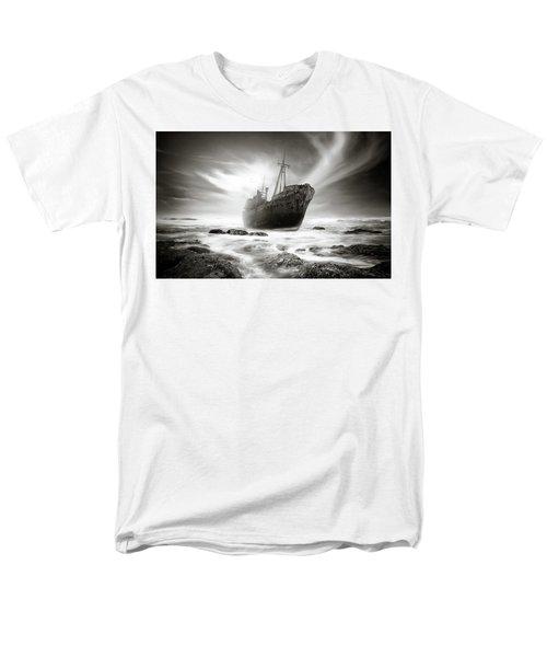 The Shipwreck Men's T-Shirt  (Regular Fit) by Marius Sipa