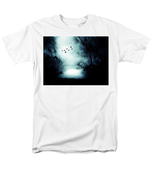The Skies Hold Many Secrets Known Only To A Few Men's T-Shirt  (Regular Fit) by Michele Carter