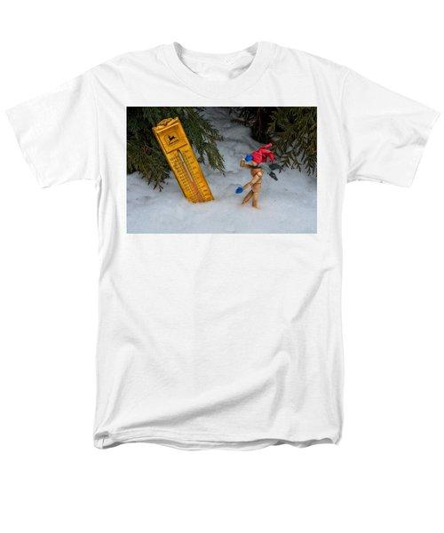 The Snowstorm Men's T-Shirt  (Regular Fit) by Mark Fuller