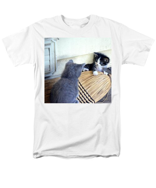 The Stare Down Men's T-Shirt  (Regular Fit) by Maria Urso