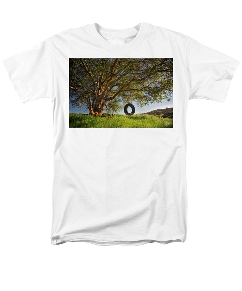 The Tire Swing Men's T-Shirt  (Regular Fit) by Endre Balogh
