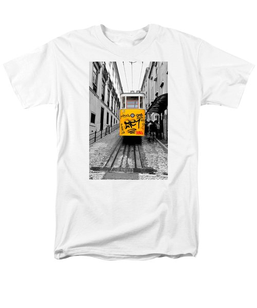 The Tram Men's T-Shirt  (Regular Fit) by Marwan Khoury