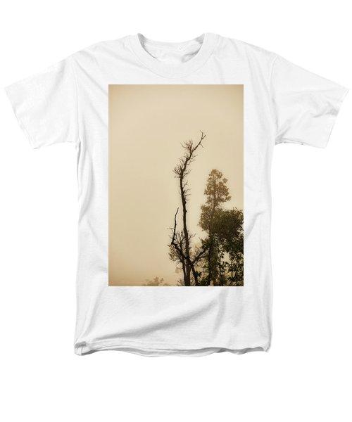 The Trees Against The Mist Men's T-Shirt  (Regular Fit) by Rajiv Chopra
