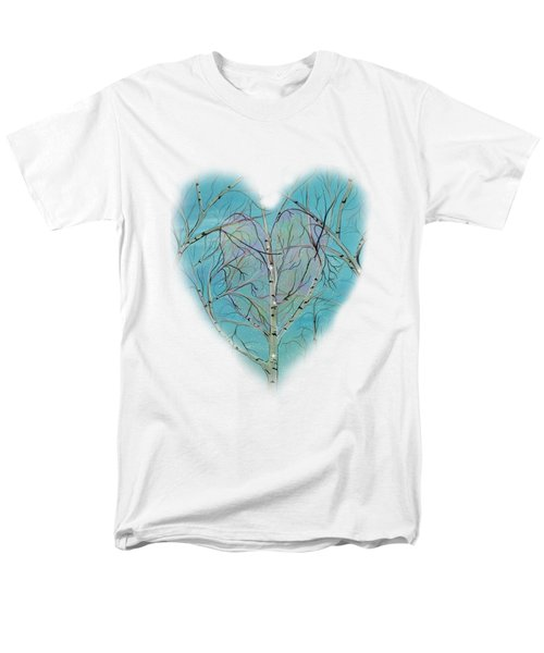 Men's T-Shirt  (Regular Fit) featuring the painting The Trees Speak To Me In Whispers by Deborha Kerr