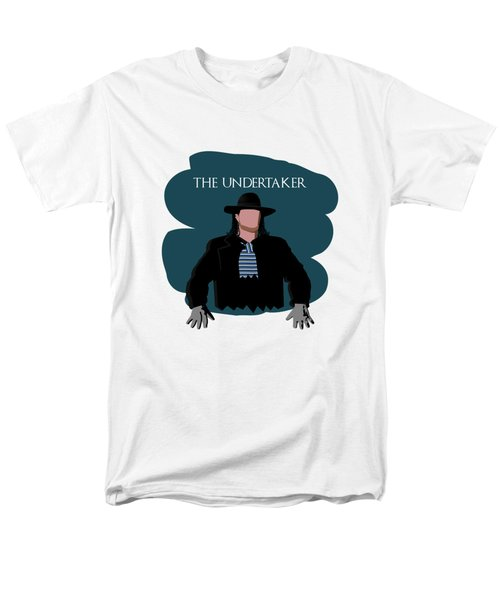 The Undertaker Sketch 2 Men's T-Shirt  (Regular Fit) by Keshava Shukla