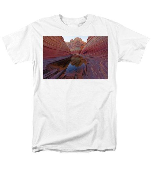 The Wave Reflection Men's T-Shirt  (Regular Fit) by Jonathan Davison