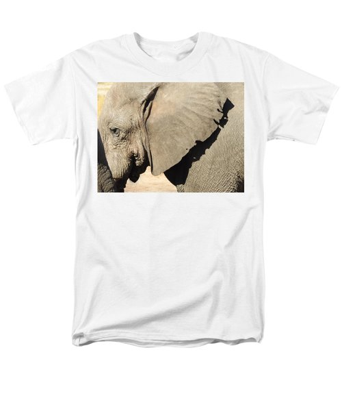 Men's T-Shirt  (Regular Fit) featuring the photograph The Weathered Look by Betty-Anne McDonald