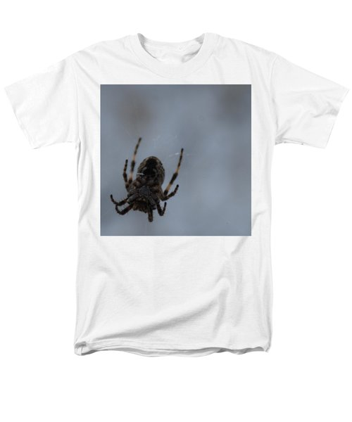 Men's T-Shirt  (Regular Fit) featuring the photograph The Webs We Weave by Ramona Whiteaker