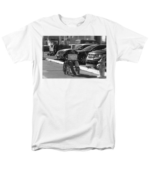 The World Is A Ghetto Men's T-Shirt  (Regular Fit) by Michael Rogers