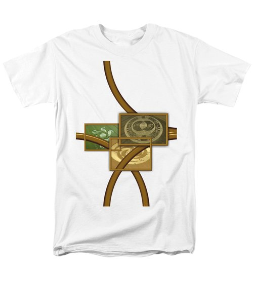 The World Of Crop Circles By Pierre Blanchard Men's T-Shirt  (Regular Fit)