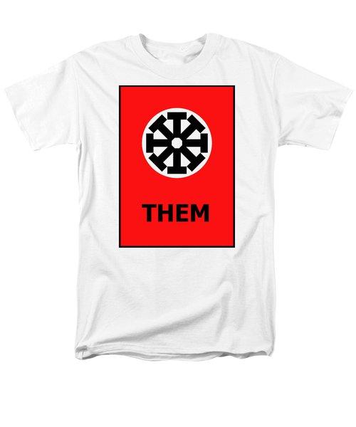 Them Men's T-Shirt  (Regular Fit) by Richard Reeve