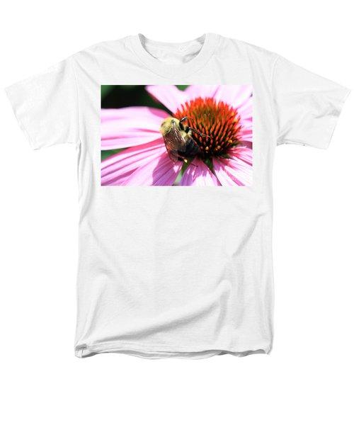 Think Bees Men's T-Shirt  (Regular Fit) by Paula Guttilla