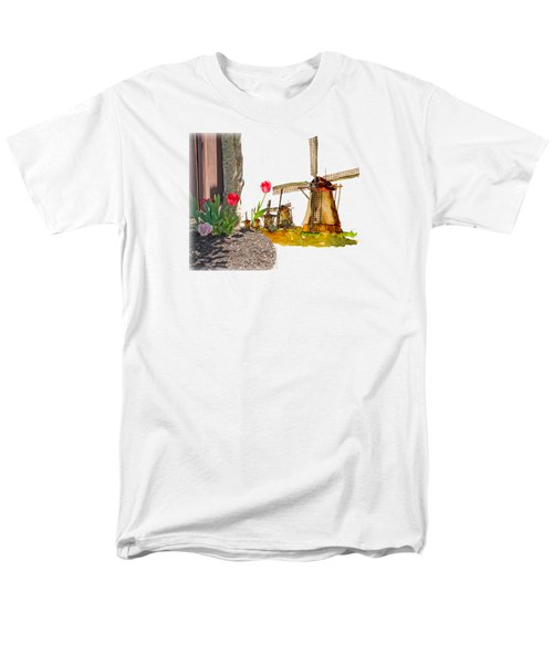 Thinkin Bout Home Men's T-Shirt  (Regular Fit) by Larry Bishop