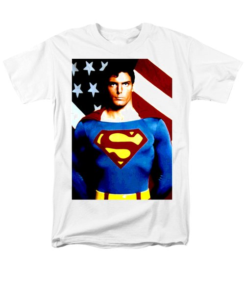 This Is Superman Men's T-Shirt  (Regular Fit) by Saad Hasnain