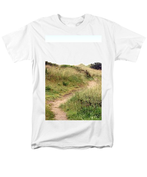 This Way To The Beach Men's T-Shirt  (Regular Fit) by Joseph Skompski