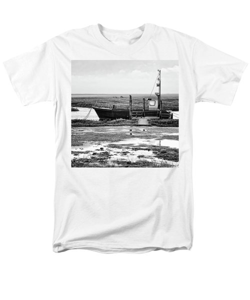 Thornham Harbour, North Norfolk Men's T-Shirt  (Regular Fit) by John Edwards