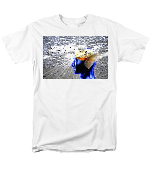 Thougths Are Like Birds Men's T-Shirt  (Regular Fit) by Paulo Zerbato